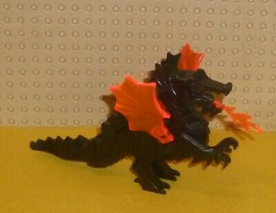 55706 Lego 4x Animal Dragon Wings Large /& Small in Black Part no
