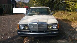 1982  Mercedes W123  300 D  Turbo Diesel Automatik  USA Model