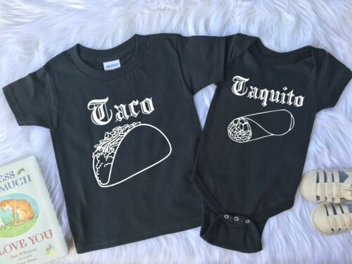 Brother Outfits Taco and Taquito Outfits Sister Outfits Sibling Outfit