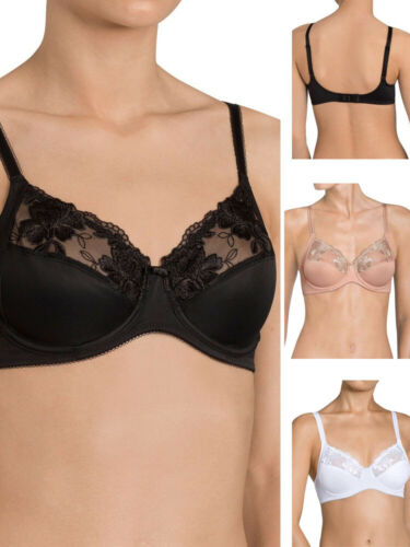 Details about  /Triumph Modern Posy Bra 10156824 Plunge Underwired Non Padded Soft Lingerie