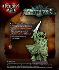 Avatars of War: Lord of War with great shield - AOW16 -Warhammer Character