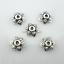 50//150pcs Tibetan Silver flower Spacer Loose Bead Caps DIY Jewelry Making 9mm