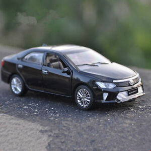 Toyota-Camry-1-32-Model-Cars-Sound-amp-Light-Toys-Alloy-Diecast-Collection-Black-New