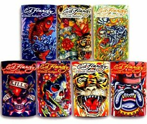 Ed-Hardy-Tattoo-Can-Cooler-Beverage-Neoprene-Koozie-Can-Coolers-Select-Style