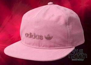 6b8e1b58e22 Image is loading New-ADIDAS-Originals-Decon-II-Pink-Mens-Snapback-