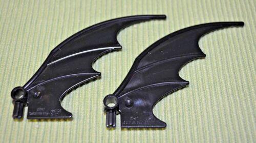 2 1 Pair Large Black BAT WINGS Batman series ~  Lego ~ NEW ~