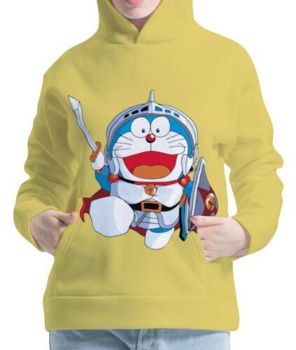 Doraemon Womens Hoodie Hooded Pullover Sweatshirt aco30142