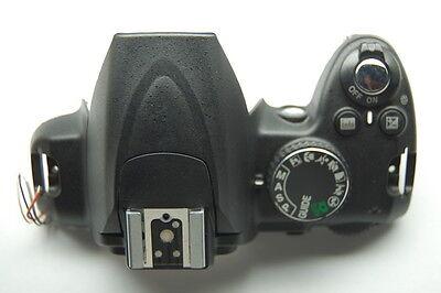 Kraftvoll Nikon D3000 Top Abdeckung Schrank Montage Einheit Inklusive Flash Tasten Ausgereifte Technologien