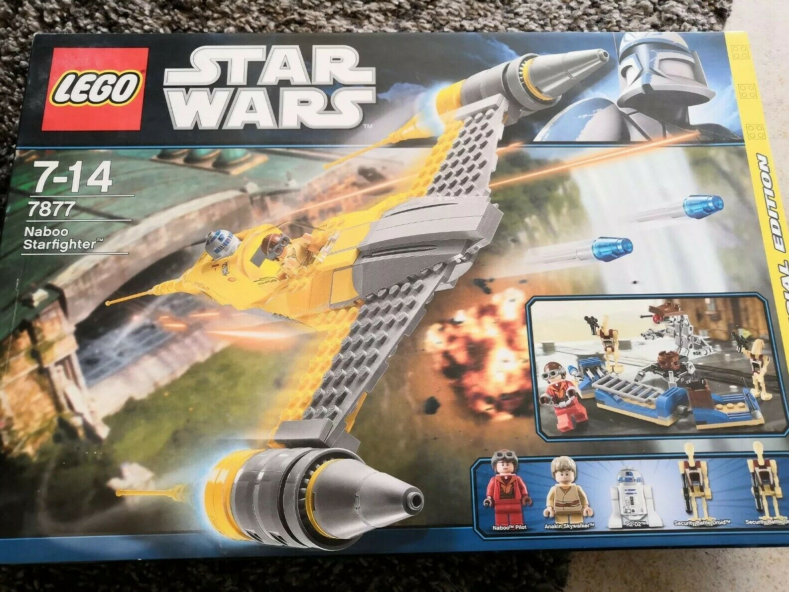 LEGO Star Wars Naboo Starfighter (7877)