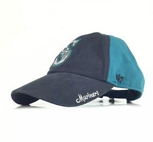 Seattle Mariners  47 Brand Baseball Cap Hat Adj. Women s Cotton ... c8819e5eca