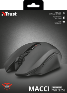 TRUST-22417-GXT-115-MACCI-3000-DPI-BLACK-WIRELESS-6-BUTTON-2400DPI-GAMING-MOUSE