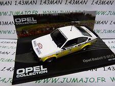 OPE141 voiture 1/43 IXO OPEL collection : KADETT C GT/E Monte Carlo 1978 #7