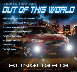 2013 2014 Ford Fusion Xenon Halogen Fog Lamps Driving