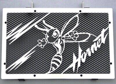 """Zonnig Cache / Grille De Radiateur Inox Poli 600 Hornet 07>14 """"frelon"""" V2+ Grill. Noir Fancy Colors"""