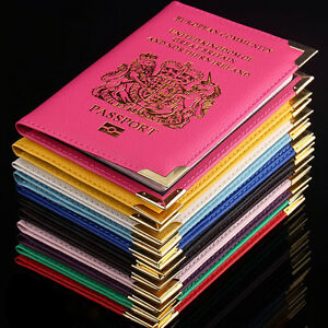 Pasaporte-titular-para-uk-Europea-pasaporte-protector-funda-cartera-PU-cuero