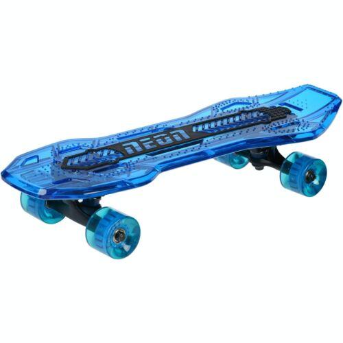 Neon Cruzer Light Up Complete Skateboard-Bleu