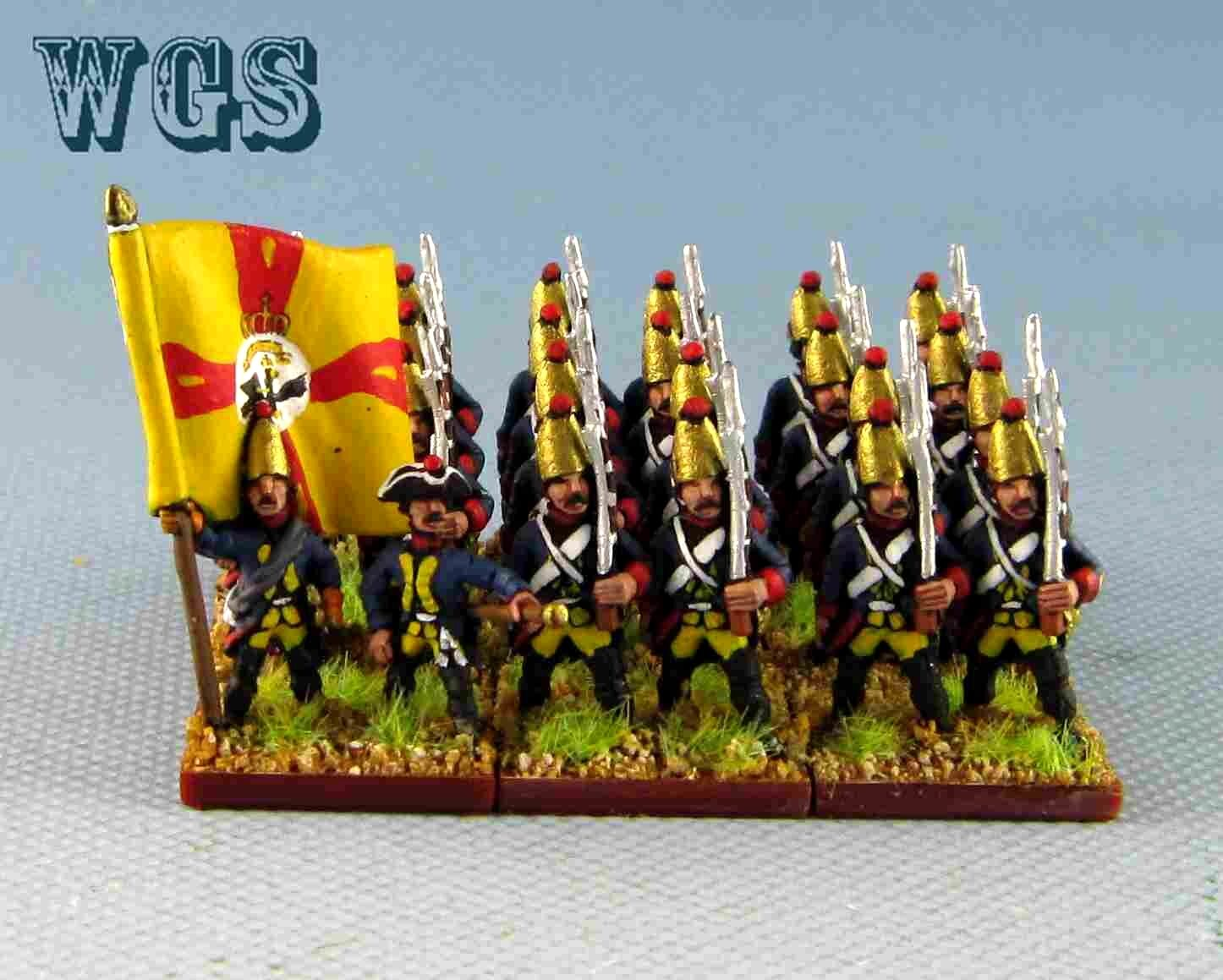 15mm SYW Seven Years War painted WGS Prussian Grenadier Pa10