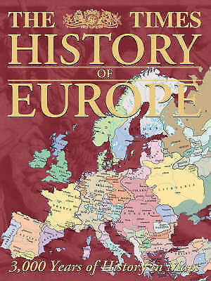 Almond, Mark, The Times History of Europe, Very Good Book