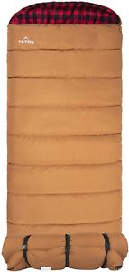 TETON Sports Deer Hunter Sleeping Bag; Warm and Comfortable Sleeping Bag Great