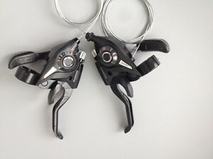 MTB Road Bike Bicycle Cycling 3x7 3x8 Speed Shifter Shift Brake Lever Levers Set