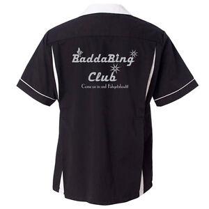 Badda Bing Club Stock Print on Classic Bowler 2.0