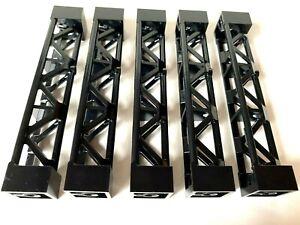 LEGO 2 Stützen 2x2x10 Säule Pfeiler 95347 Träger Set 7905 gelb lime schwarz grau