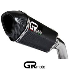 "Carbon Exhaust Slip on 51mm 2"" GRmoto"