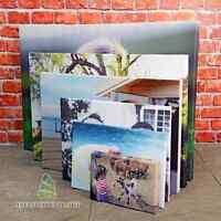 "Your Photo Image on to Box Canvas Print 30"" x 20"" Inches A1 Eco-Friendly Inks-CA"