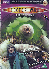 THE GREEN DEATH Doctor Who dr files 48 NEW/SEALED can post 7 dvd to UK for £3.50
