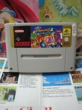 Super Nintendo SNES:Super Bomberman 2 [TOP & 1ERE EDITION RARE] SEUL - Fr