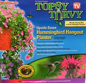 Topsy-Turvy-Upside-Down-Hummingbird-Hangout-Planter-As-Seen-On-TV