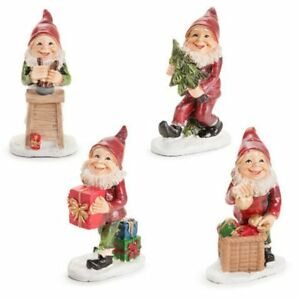 Christmas Gnome.Details About Darice Christmas Gnome Miniatures You Will Get The Baking Elf