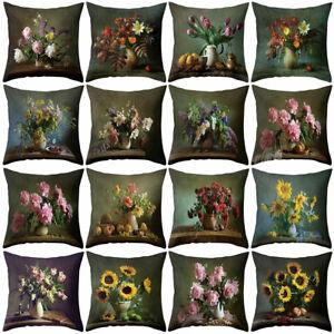 Am-Flower-Vase-Throw-Pillow-Case-Cushion-Cover-Sofa-Bedroom-Car-Office-Decor-No