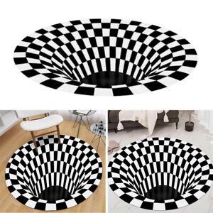 Tappeto-rotondo-con-motivo-a-vortice-con-stampa-a-illusione-ottica