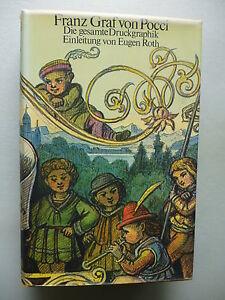 Franz-Graf-von-Pocci-Die-gesamte-Druckgraphik-1-Auflage-1974-von-Eugen-Roth
