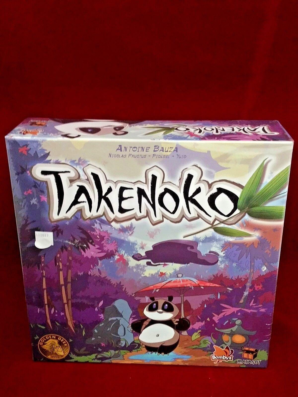 Takenoko panda strategie spiel, neue fabrik versiegelt asmodee matagot bombyx