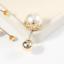 Fashion Women Brooch Rhinestone Pearl Diamante Broach Pin With Gift Bag UK