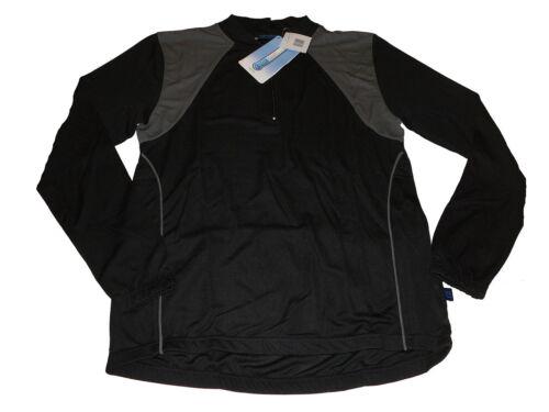 44 L grau-schwarz !! NEU Movement Session Damen Fahrrad Shirt Trikot Gr