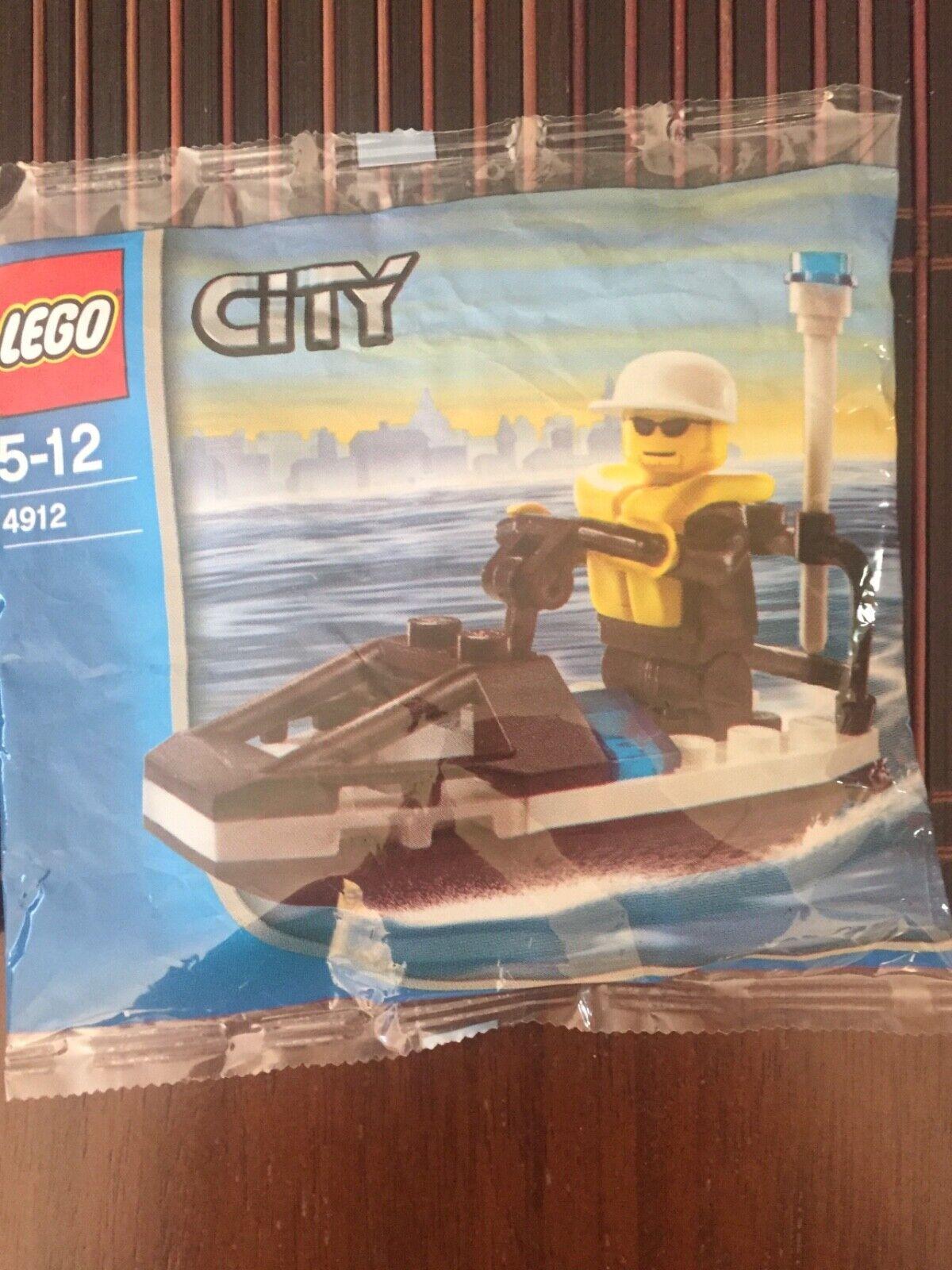 LEGO 4912 City Police JetSki RARE (2005) New Unopened Factory Sealed Promo