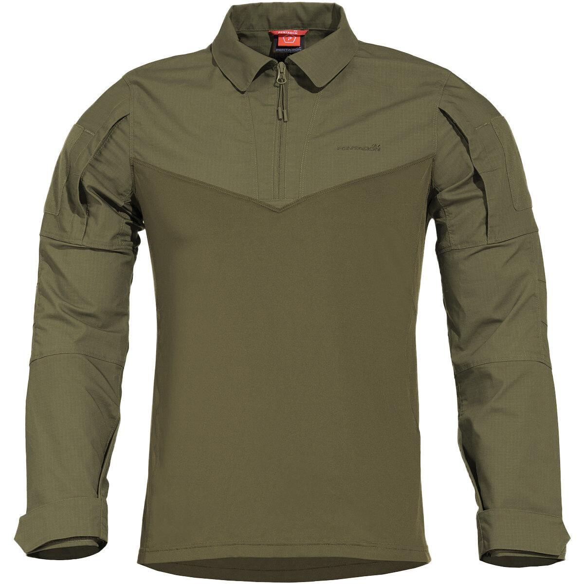 Pentagon Ranger Tac-Fresh Camicia Uomo Militare Softair Tattico Ranger verde