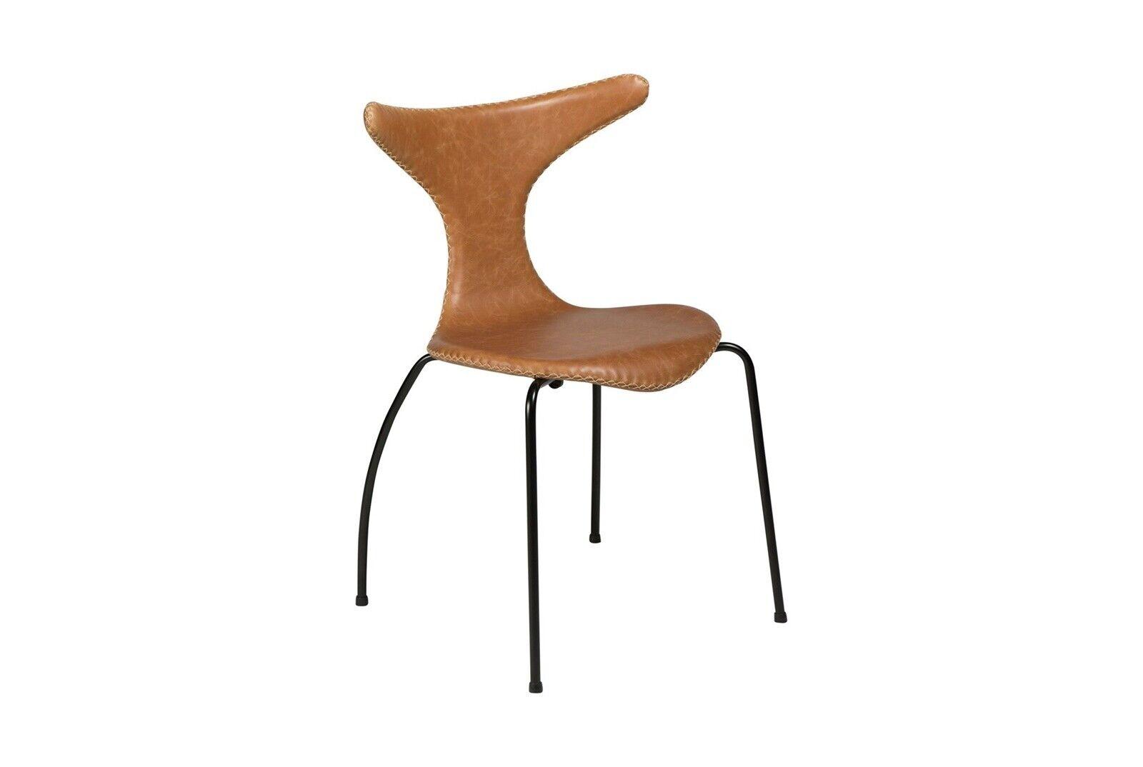 Spisebordsstol, Ægte læder og