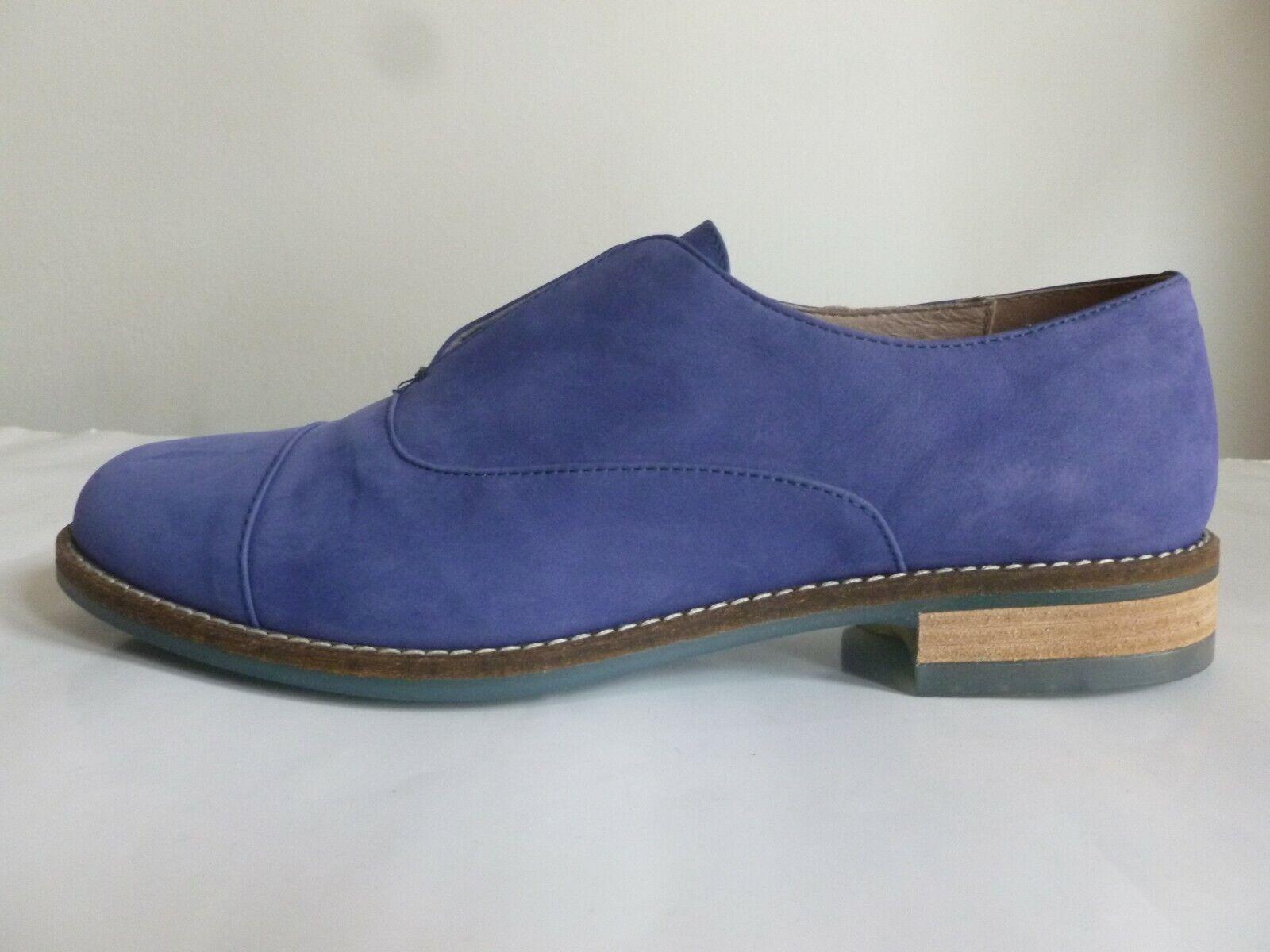 New leather derby scarpe PENNY nero 37 EU, scarpe derby PENNY nero tg 37 NUOVE