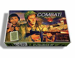 "Marx ""Combat"", the TV Series Play Set Box."