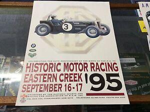 HISTORIC-MOTOR-RACING-EASTERN-CREEK-50TH-ANNIVERSARY-OF-M-G-POSTER