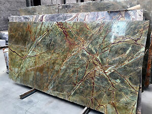 tischplatte arbeitsplatte naturstein marmor granit gr n abdeckung steinplatte ebay. Black Bedroom Furniture Sets. Home Design Ideas