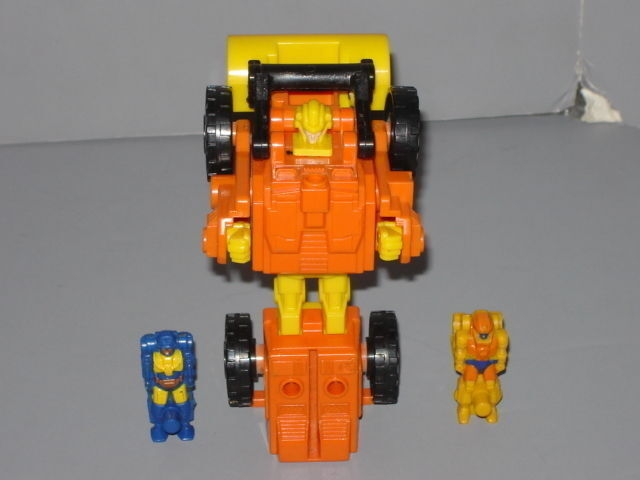 G1 TRANSFORMERS AUTOBOT TARGETMASTER SCOOP COMPLETE PROF CLEANED OT