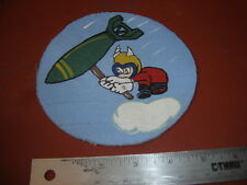 WWII USAAF DISNEY GREMLIN 431 ST BOMB SQDN   PATCH