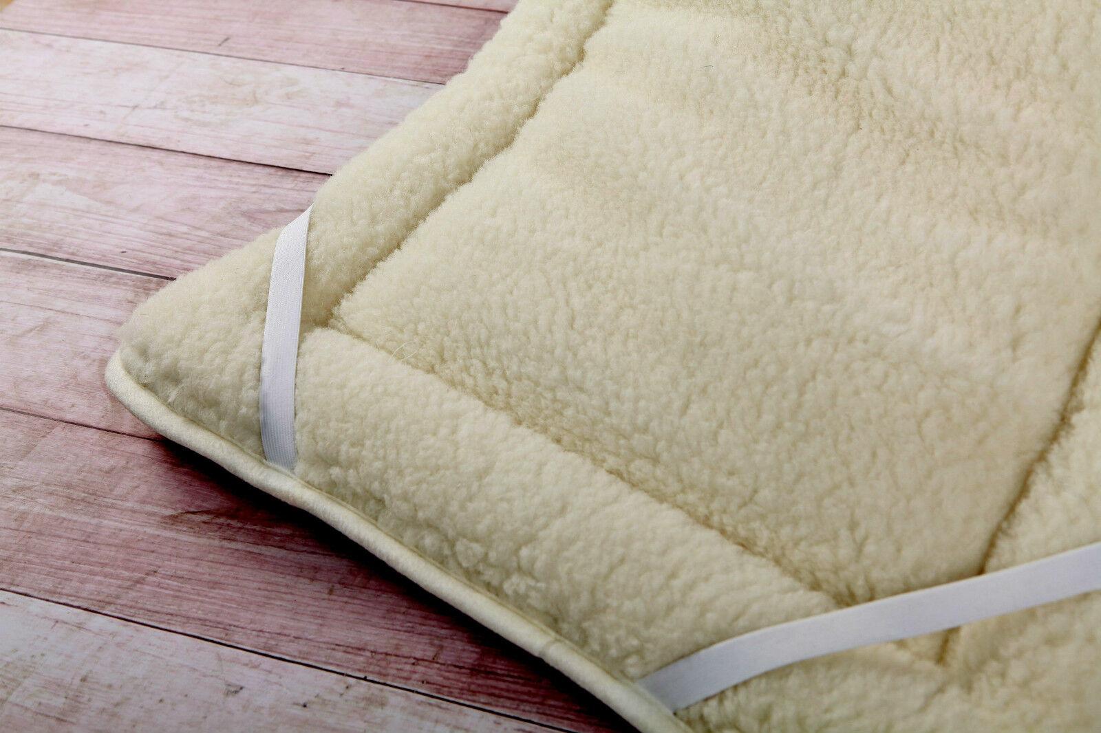 Merinowolle Matratzenauflage Medizinisch Produkt Bett Pad Perugian