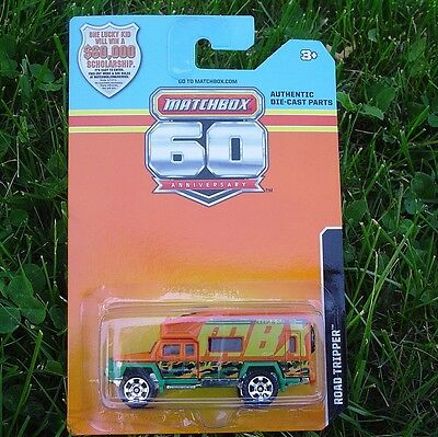 ROAD TRIPPER Matchbox 60th ANNIVERSARY Commemorative NEW in Blister Pack!