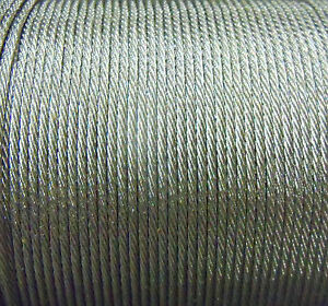 195 lb AFW TOOTH PROOF SINGLE STRAND WIRE-STAINLESS STEEL #13